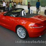 BMW Z4 facelift India rear three quarters