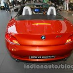 BMW Z4 facelift India rear view