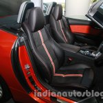 BMW Z4 facelift India seats