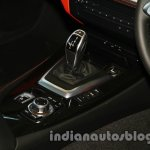 BMW Z4 facelift India shifter and iDrive controls