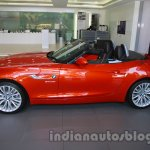 BMW Z4 facelift India side view