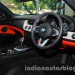 BMW Z4 facelift India steering wheel