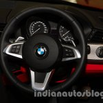 BMW Z4 facelift India steering