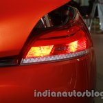 BMW Z4 facelift India taillight