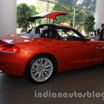 BMW Z4 facelift folding roof stage 4