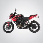 Bajaj Pulsar 200NS Red and Black color