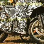 Bajaj Pulsar 200SS spied alloy wheels