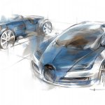Bugatti Legend Meo Costantini sketch