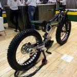 Caterham Carbon E-Bike rear three quarters right