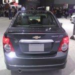 Chevrolet Sonic Dusk rear