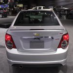 Chevrolet Sonic RS rear