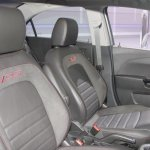 Chevrolet Sonic RS seats