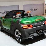 Daihatsu Kopen at Tokyo Motor Show 2013 rear three quarters