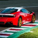 Ferrari 458 Niki Lauda rear