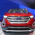 Ford Edge Concept grille