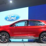 Ford Edge Concept side