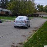 Ford Figo Sedan spied rear