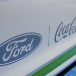 Ford Fusion Energi plug-in hybrid Coca Cola logo