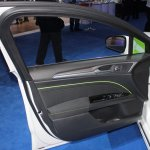 Ford Fusion Energi plug-in hybrid door trim