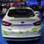 Ford Fusion Energi plug-in hybrid rear