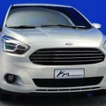 Ford Ka Concept front fascia
