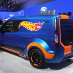 Ford Transit Hot Wheels Edition rear quarter