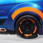 Ford Transit Hot Wheels Edition wheels