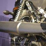 Harley Davidson Street 500 exhaust modified
