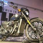 Harley Davidson Street 500 front three quarter
