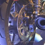 Harley Davidson Street 500 rear discs