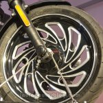 Harley Davidson Street 500 wheel modified