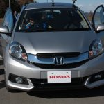Honda Mobilio front at the Twin Ring Motegi