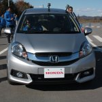 Honda Mobilio front-end at the Twin Ring Motegi