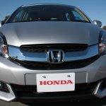Honda Mobilio front fascia at the Twin Ring Motegi