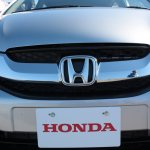 Honda Mobilio grille at the Twin Ring Motegi