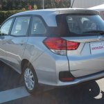 Honda Mobilio rear three quarter