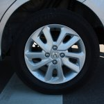 Honda Mobilio wheel design at the Twin Ring Motegi