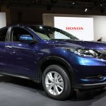 Honda Vezel front quarter
