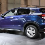 Honda Vezel rear three quarters 4
