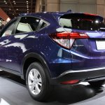 Honda Vezel rear three quarters