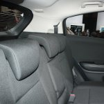 Honda Vezel second row seat