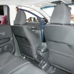 Honda Vezel second row seats