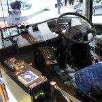 Isuzu ELGA Hybrid interior