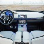 Jaguar C-X17 Dubai show dashboard