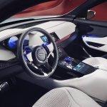Jaguar C-X17 Dubai show interior