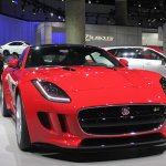 Jaguar F-Type R Coupe at LA Auto Show 2013