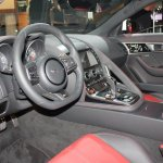 Jaguar F-Type R Coupe at LA Auto Show dashboard driver side