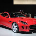 Jaguar F-Type R Coupe at LA Auto Show front three quarters left
