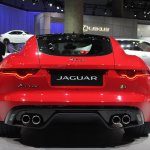 Jaguar F-Type R Coupe at LA Auto Show rear 2