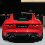 Jaguar F-Type R Coupe at LA Auto Show rear